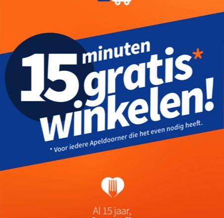 Voedselbank Apeldoorn bestaat 15 jaar