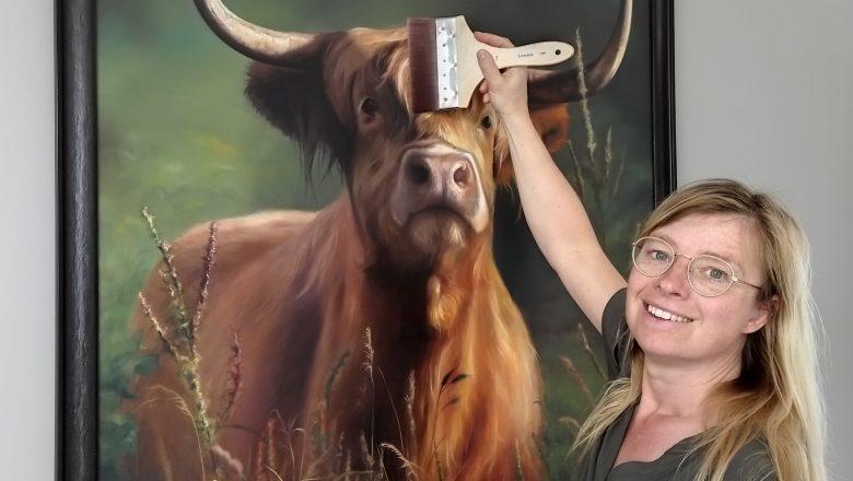 Nieuw in Apeldoorn, schilderlessen van Atelier Mirjam Berkhout