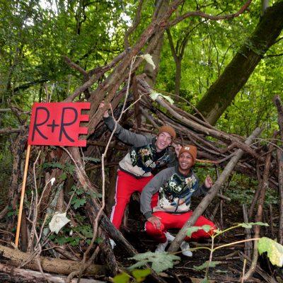 Vier met Roots de herfst op de Bosweide van Stadspark Berg & Bos